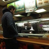 Photo taken at Subway by Namer M. on 10/27/2012
