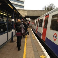 Photo taken at Gunnersbury London Underground and London Overground Station by Namer M. on 12/6/2012