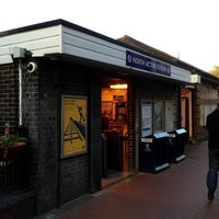 Photo taken at North Acton London Underground Station by Namer M. on 5/2/2013