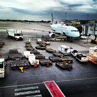 Photo taken at Montréal Int'l Airport Pierre-Elliott-Trudeau (YUL) by Renaud L. on 8/16/2013