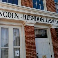 Photo taken at Lincoln-Herndon Law Office by Sheila S. on 1/11/2013