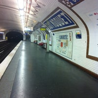 Photo taken at Métro Guy Moquet [13] by Nicolas D. on 10/4/2012