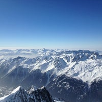 Photo taken at Les Grands Montets by Nataly Y. on 3/2/2013
