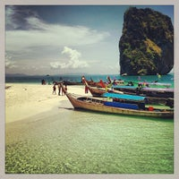 Photo taken at Poda Island by Natalia C. on 4/25/2013