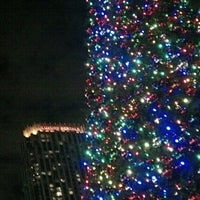 Photo taken at Atlantic Station Central Lawn by Jessica G. on 12/9/2012