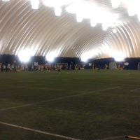 Photo taken at Sports Dome by Jason P. on 1/9/2014