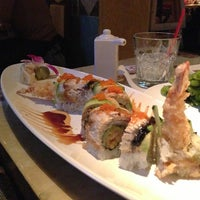 Photo taken at Hane Sushi by Andrew C. on 1/1/2013