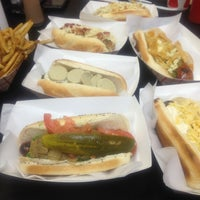 Photo taken at Hot Doug's by Christi K. on 5/10/2013