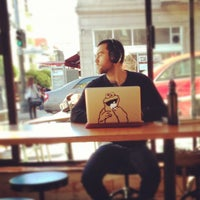 Photo taken at Cup-A-Joe Coffee House by Albert T. on 12/2/2012
