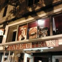 Photo taken at Café Citron by Michael P. on 10/24/2012