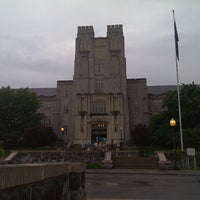 Photo taken at Burruss Hall by Cee J. on 5/23/2013