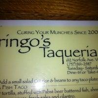 Photo taken at Gringo's Taqueria by Shaun W. on 1/11/2013