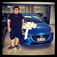 Photo taken at Eagers Mazda by Brendan D. on 2/5/2015