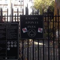 Photo taken at Ramon Aponte Park by X X. on 11/20/2013