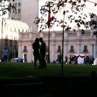 Photo taken at Plaza de la Constitución by JIslaM on 11/24/2012