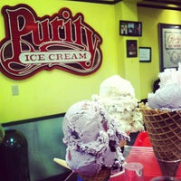Photo taken at Purity Ice Cream by Josh H. on 10/9/2012