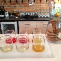 Photo taken at New Day Craft Mead & Cider by Hazel W. on 11/30/2012