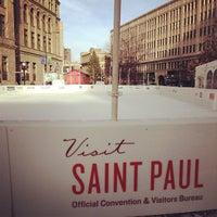 Photo taken at Landmark Plaza by Carlos V. on 11/21/2012