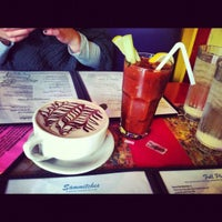 Photo taken at Pick Me Up Café by Kara S. on 12/1/2012