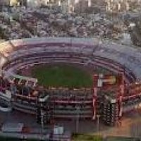 Photo taken at Estadio Monumental (River Plate) by ∏λR Ʒɔ̐̐ on 3/30/2013