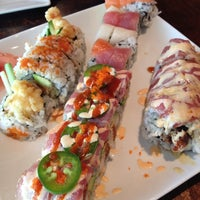 Photo taken at Sushi Love by Jennifer L. on 6/22/2013