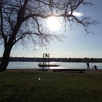Photo taken at Green Lake Loop by Allie B. on 4/17/2013
