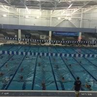 Photo taken at Greensboro Aquatic Center by Kimm R. on 8/31/2015