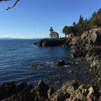 Photo taken at Lime Kiln Point State Park by Stephanie T. on 9/21/2016