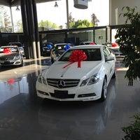 Photo taken at Mercedes-Benz Hermer by Xhavita S. on 2/18/2013