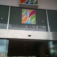 Photo taken at Wangsa Walk Mall by Rizley B. on 5/9/2013