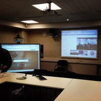 Photo taken at Boardroom, School of Business by Andrew Long (@socialspace) on 6/19/2013