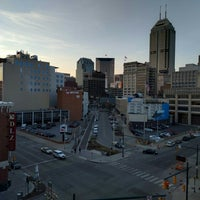 Photo taken at Bankers Life Fieldhouse Parking Garage by Andrew F. on 3/21/2016