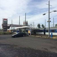 Photo taken at Swanson Train Station by Darren D. on 4/25/2014