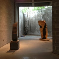 Photo taken at The Noguchi Museum by Hans S. on 7/3/2013