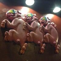 Photo taken at Bubbalou's Bodacious Bar-B-Que by Andrea on 10/19/2012