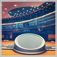 Photo taken at European Parliament Meeting Room JAN 2Q2 by Dan A. on 12/17/2012