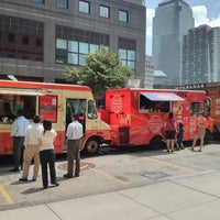 Photo taken at Food Truck Court by Mitesh S. on 6/24/2013