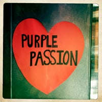 Photo taken at Purple Passion by LaLa S. on 3/30/2013
