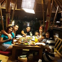 Photo taken at Gubug Makan Segara Bambu by Ndra D. on 8/11/2016