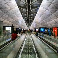 Photo taken at Hong Kong International Airport (HKG) by Stephen T. on 7/27/2013