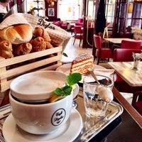 Photo taken at Café Diglas by Johann D. on 9/28/2014