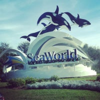 Photo taken at SeaWorld Orlando by Verda S. on 12/30/2012