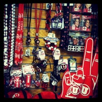 Photo taken at University of Utah Campus Store by Lauren S. on 10/7/2012