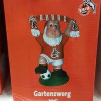 Photo taken at FC-FanShop im RheinEnergieStadion by Craig V. on 12/19/2015