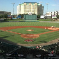 Photo taken at Dr Pepper Ballpark by MADAMIC on 7/23/2013
