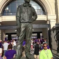 Photo taken at Bill Snyder Family Stadium by Bill Snyder on 8/31/2013