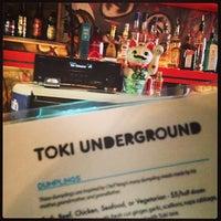 Photo taken at Toki Underground by Cary S. on 2/1/2013