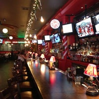 Photo taken at Grease Burger, Beer and Whiskey Bar by Mike E. on 12/7/2012