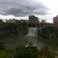 Photo taken at High Falls by Caitlin R. on 9/22/2013