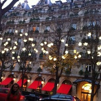 Photo taken at Avenue Montaigne by A on 12/16/2012